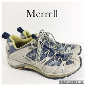 Merrell siren sport grey/periwinkle women's 8